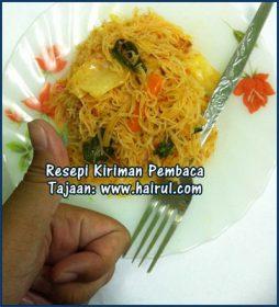 Resepi Bihun Goreng Tomyam Special