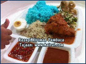 Resepi Nasi Kerabu Paling Special