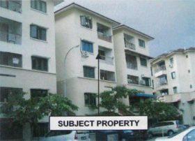 Rumah apartment untuk dijual di Johor Bahru
