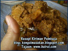 Resepi Ayam Masak Halia Special