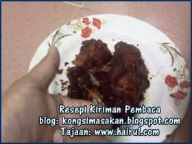 Resepi Ayam Goreng Berempah Paling Sedap