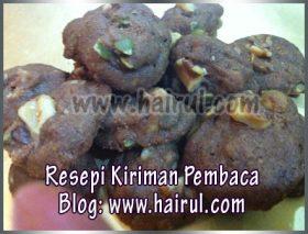 Resepi Biskut Coklat After 8 Drops