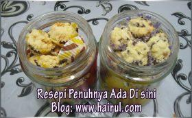 Resepi Biskut Raya Cornflake & Kurma Butter Cookies Paling Special