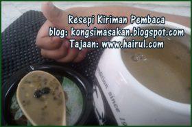 Resepi Bubur Kacang Hijau Dengan Black Pearl