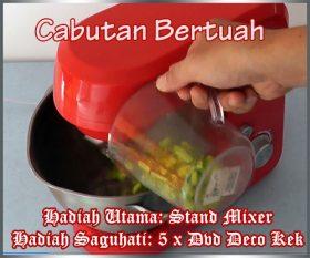Jom Tgk Video Cabutan Bertuah Guna Stand Mixer & Testimonial Buat Kek Guna Mixer / Oven Kecil Jee