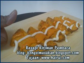 Resepi Cheesy Wedges Special