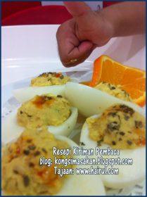 Resepi Telur Deviled Eggs Paling Special