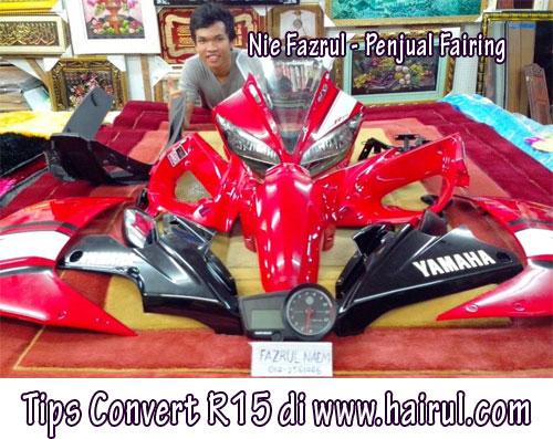 Cara yamaha fz150i convert to r15 baru mengancam beb for Yamaha capital one customer service