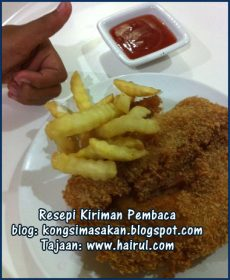 Resepi Fish N Chip Special