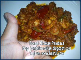 Resepi Kari Ayam Special Style Kering