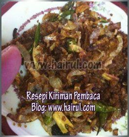 Resepi Ikan Pekasam Style Lenggong Town