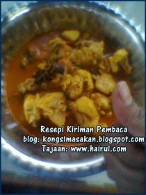 Resipi Kari Ayam Kampung Special