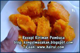 Resepi Kesari (Indian Suji Cake)