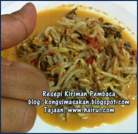 Resepi Kerabu Taugeh Special