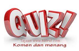 Kuiz Komen & Menang Stand Mixer Heavy Duty. Terharu Pulak Baca Komen Peserta Kuiz Nieee