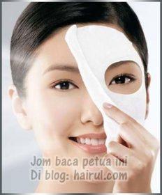 Masker Muka Dgn Buah-Buahan Utk Kecantikan Wajah