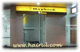 Cara menggunakan mesin ATM – Cash Machine Deposit Maybank & CIMB