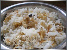 Petua Cara Hilangkan Bau Nasi Hangit