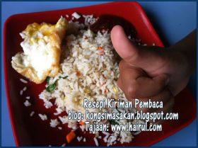 Resepi Nasi Goreng Mertua Paling Mudah