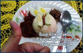 Resepi Nasi Lemak & Cara Kedai Kurangkan Pedas Sambal Tumis