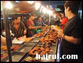Pasar malam, panduan mencari tapak pasar malam