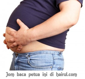 cara menghilangkan perut buncit paling mudah setakat ini cara ...