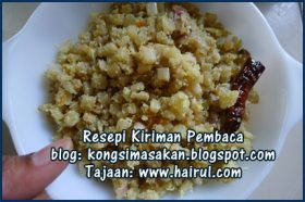 Resepi Plantain Steam Stir Fry