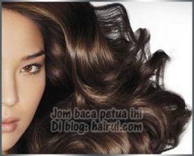 Petua Mencegah Rambut Beruban Dan Gugur Secara Tradisional