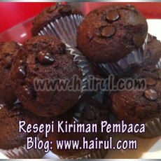 resepi-muffin-coklat