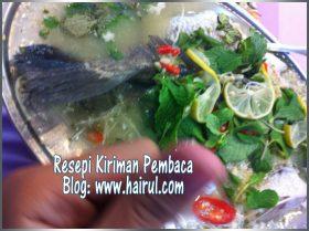 Resepi Ikan Siakap Stim Limau
