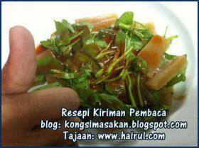 Resepi Sotong Kangkung Special