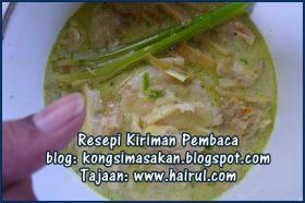 Resepi Sup Ekor Special