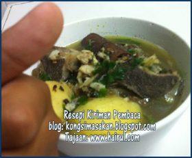 Resepi Sup Tulang Paling Sedap