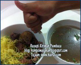 Resepi Sup Bihun Utara Paling Sedap