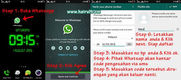 daftar whatsapp