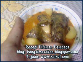 Resepi Kari Ikan Tongkol Special