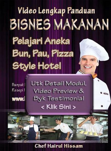 DVD Kelas Roti Bun Utk Labuan dan Brunei