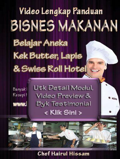 DVD Kelas Roti Bun Utk Kuala Lumpur KL dan Selangor
