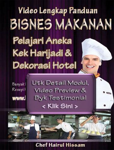 DVD Kelas Kek Utk Singapore Melaka