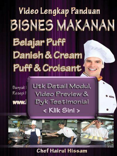DVD Kelas puff, danish, creampuff Utk Pahang Johor