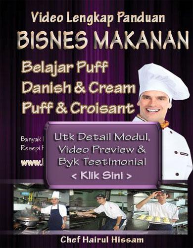 DVD Kelas puff, danish, creampuff Utk Singapore Melaka