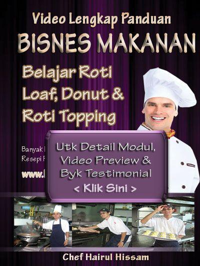 DVD KELAS Roti Buku Loaf, Donut, Pizza Utk Pahang Johor