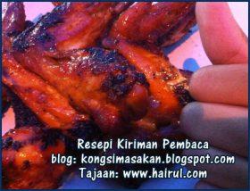 Resepi Kepak Ayam Madu Paling Special