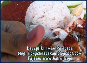 Resepi Nasi Lemak Ayam Berempah Paling Special