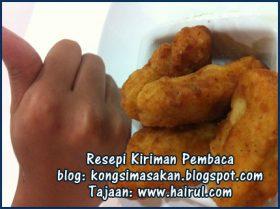Resepi Nugget Ayam KFC Special