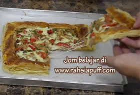 Resepi  Puff, Croissant & Cream Puff  | Jom Tengok Bentuk DVD Movie Saya Yg Canggih