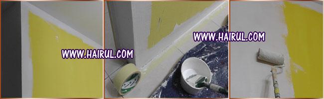 panduan cat rumah