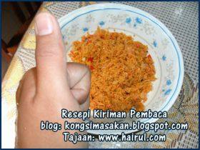 Resepi Sambal Kelapa Special