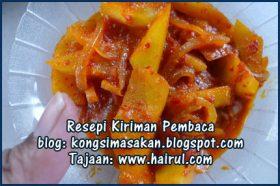 Resepi Sambal Mangga