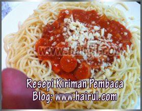 Resepi Spaghetti Bolognese Prego Mudah Dan Sedap